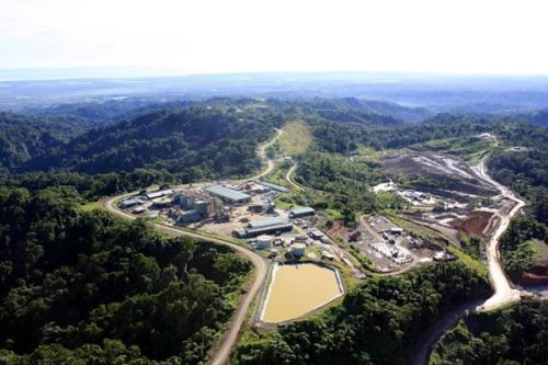 Gold Ridge processing plant